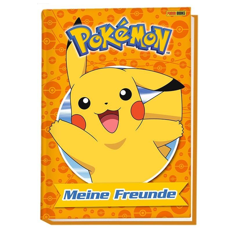 Freundebuch Pokemon Meine Freunde