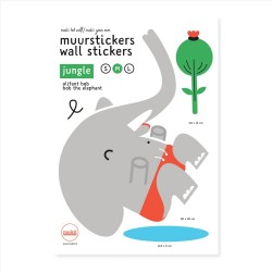 Wandsticker Elefant Bob
