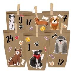 Adventskalender DIY Hunde