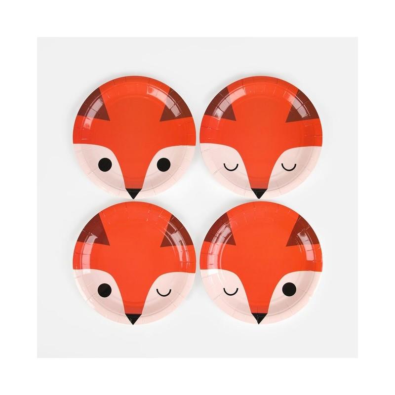 My Little Day - 8 Pappteller Mini Fuchs