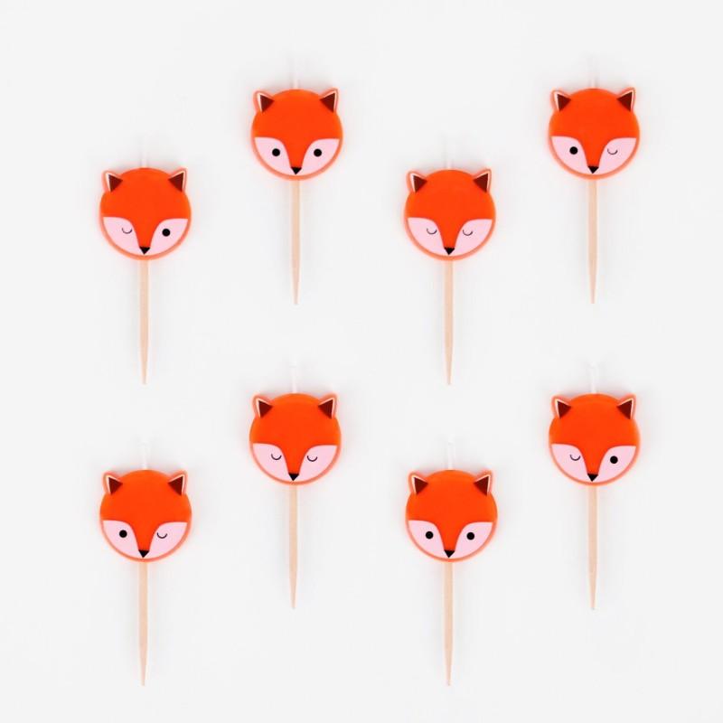 My Little Day - 8 Kerzen Mini Fuchs